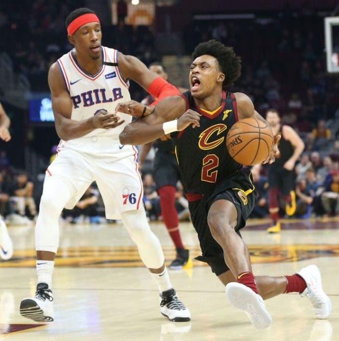 Cleveland Cavaliers superó 108-94 a Philadelphia 76ers