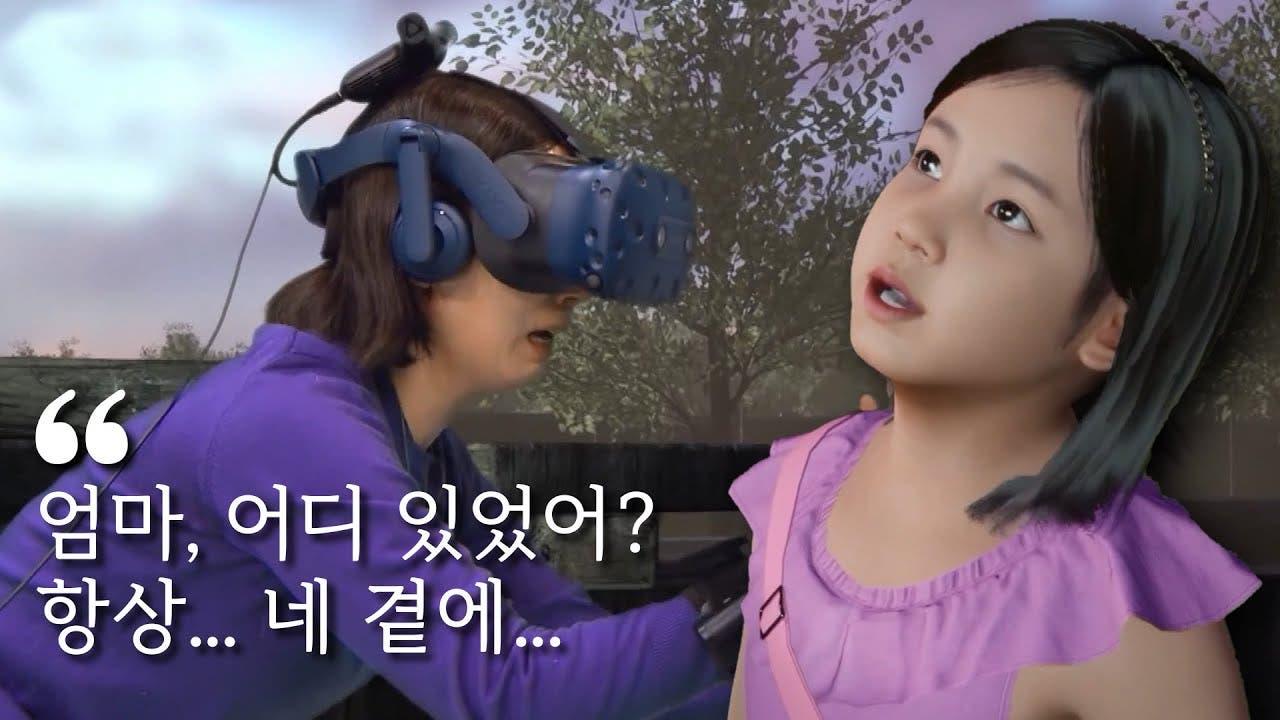 El dramático «reencuentro» de una madre con su niña muerta gracias a la realidad virtual