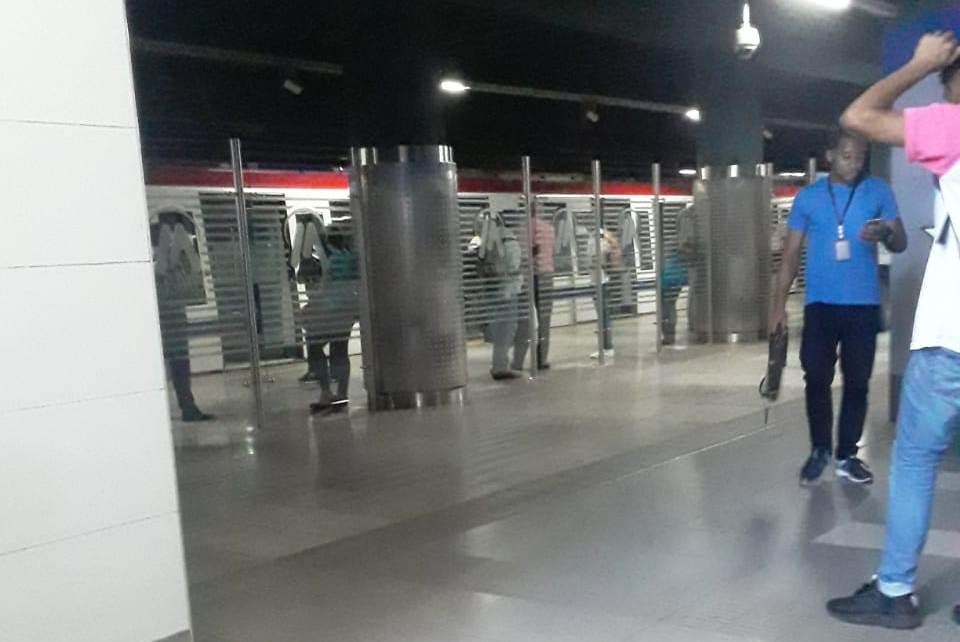 Falla eléctrica afecta operaciones del Metro y Teleférico de Santo Domingo