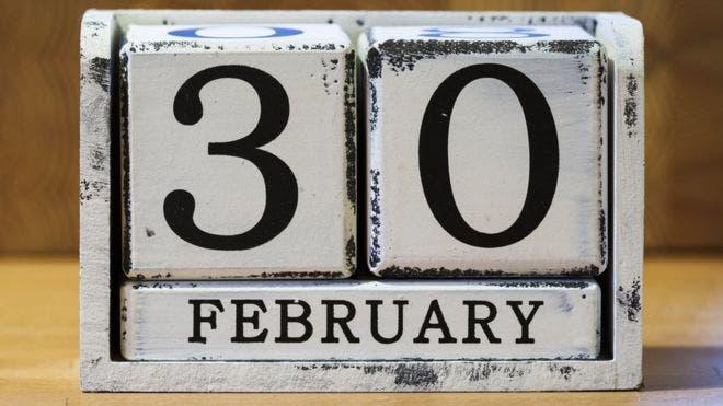 30 de febrero, el día que sólo existió una vez en la historia