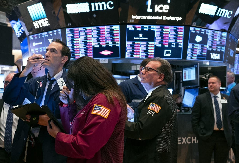 Wall Street abre en rojo y el Dow Jones cae un 1,39 % por la variante delta