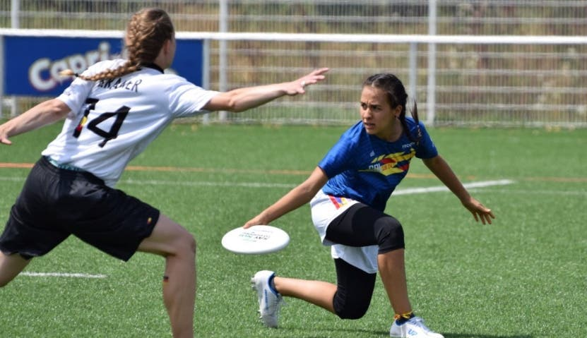 Copa Ultimate -Frisbee integra a 75 jugadores