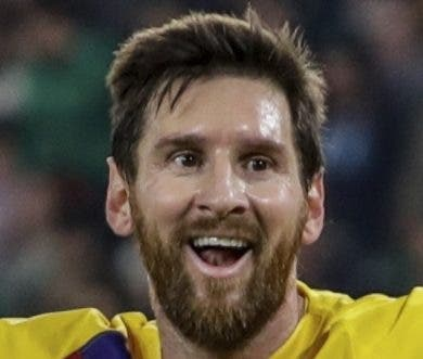 Descenso de Messi afecta al Barcelona