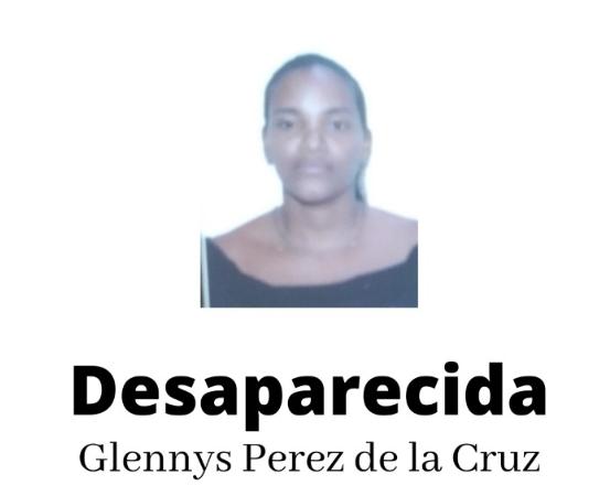 Glennys Pérez de la Alzada está desaparecida desde el martes