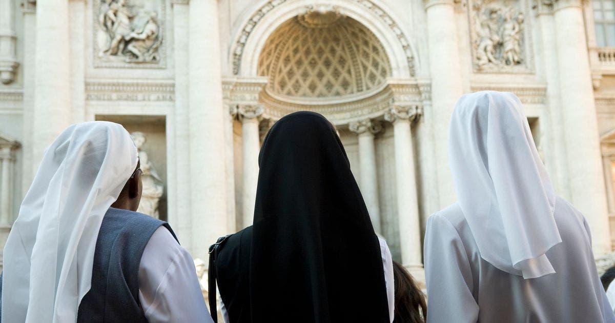 Aislan dos conventos de Roma con 60 monjas contagiadas con coronavirus