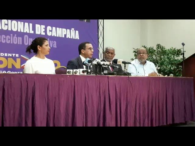 Andrés Navarro afirma Leonel está despechado tras salida del PLD, pero respeta su decisión sobre CES
