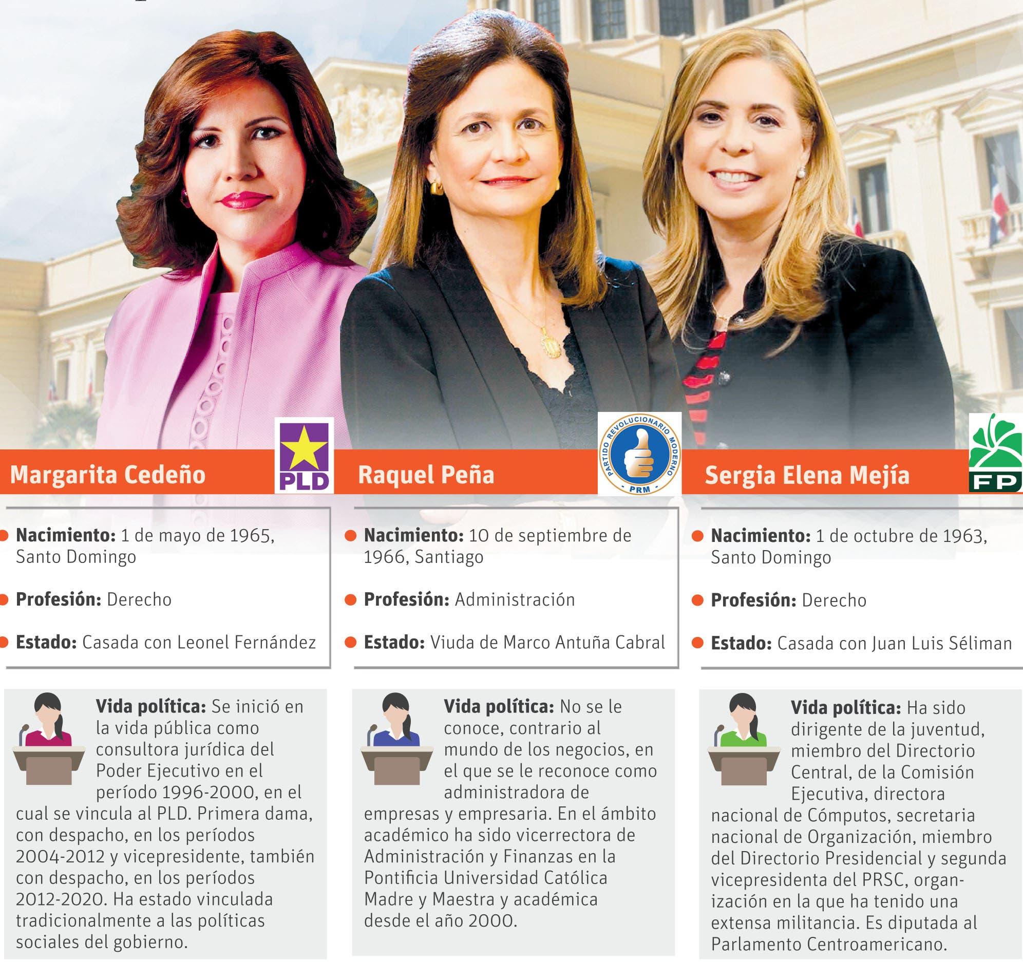 De tres mujeres para la vice, una aporta, otra jala y otra, por verse