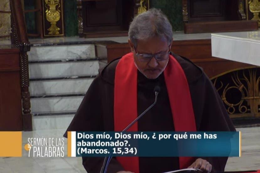 SERMÓN DE LAS 7 PALABRAS: Situación creada por el Covid-19 debe «hacernos solidarios hasta el forro»