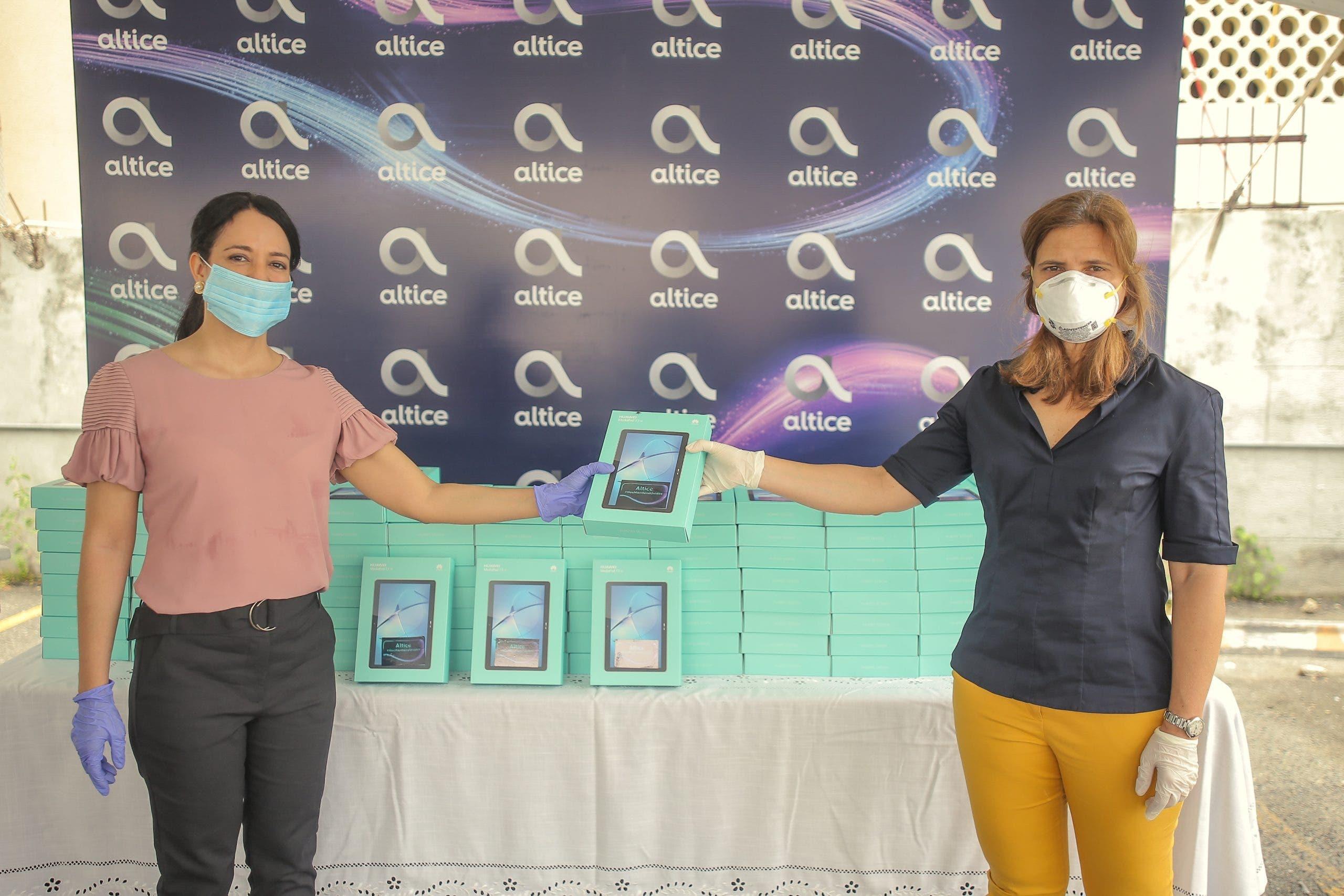Altice dona 202 tabletas a pacientes | El Día