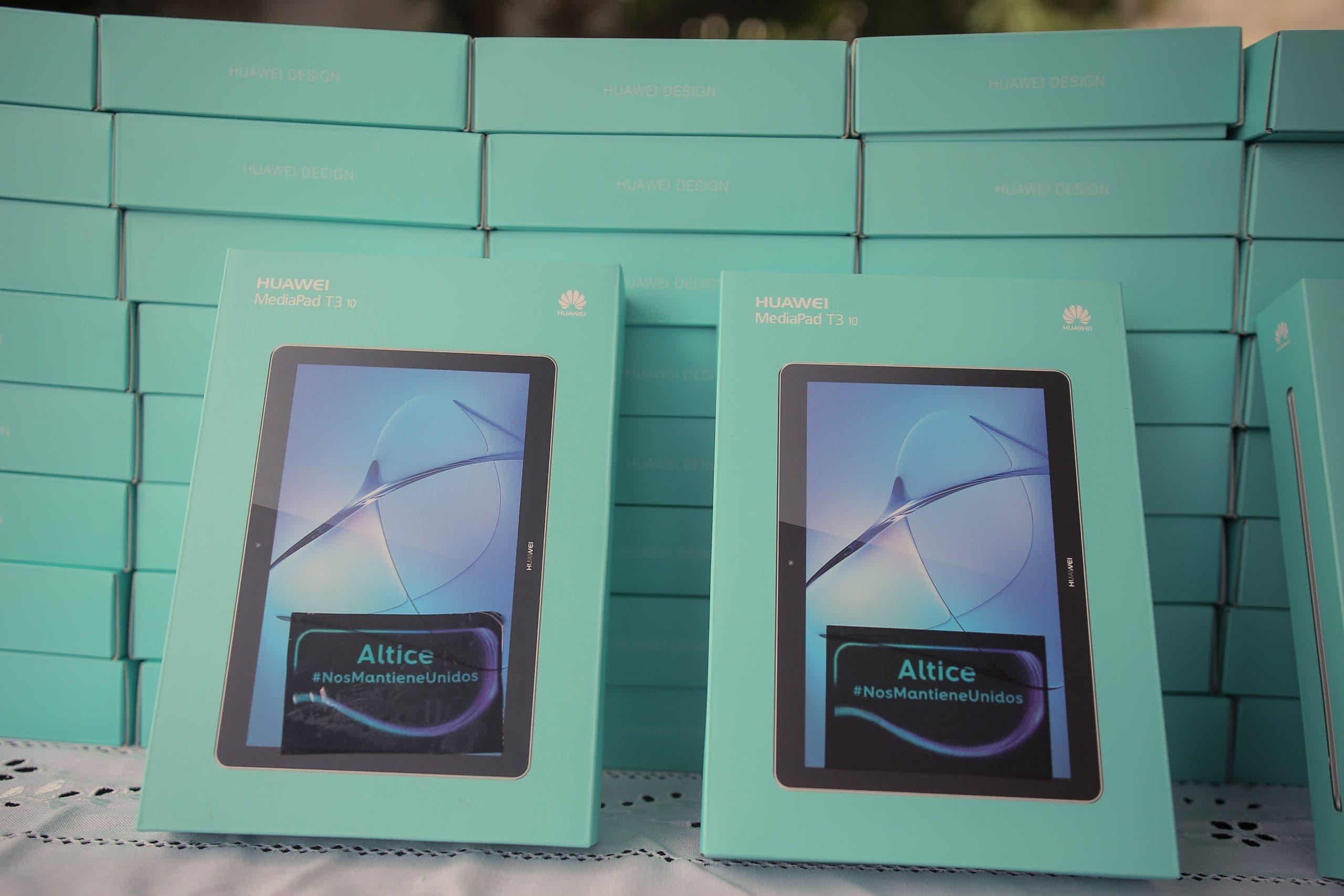Altice dona 202 tabletas con internet para pacientes con COVID – 19