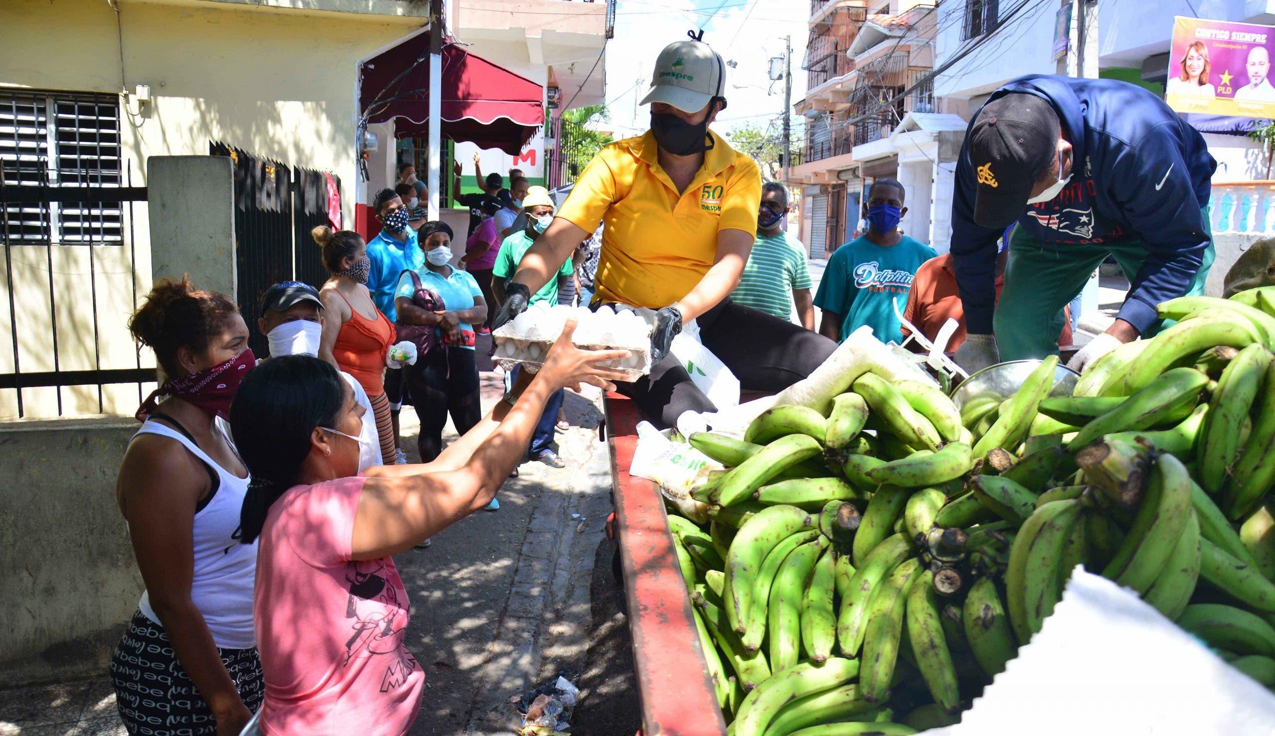 Inespre  inicia venta masiva de plátanos