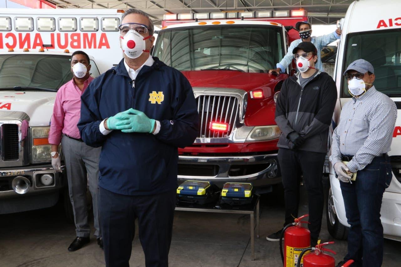 Abinader entregará 26 ambulancias a alcaldes electos para trasladar pacientes Covid-19