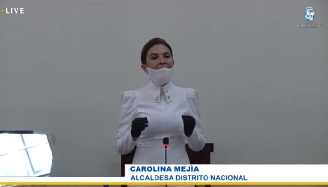 Carolina Mejía toma posesión de la Alcaldía del Distrito Nacional; se compromete a velar por bienestar de munícipes