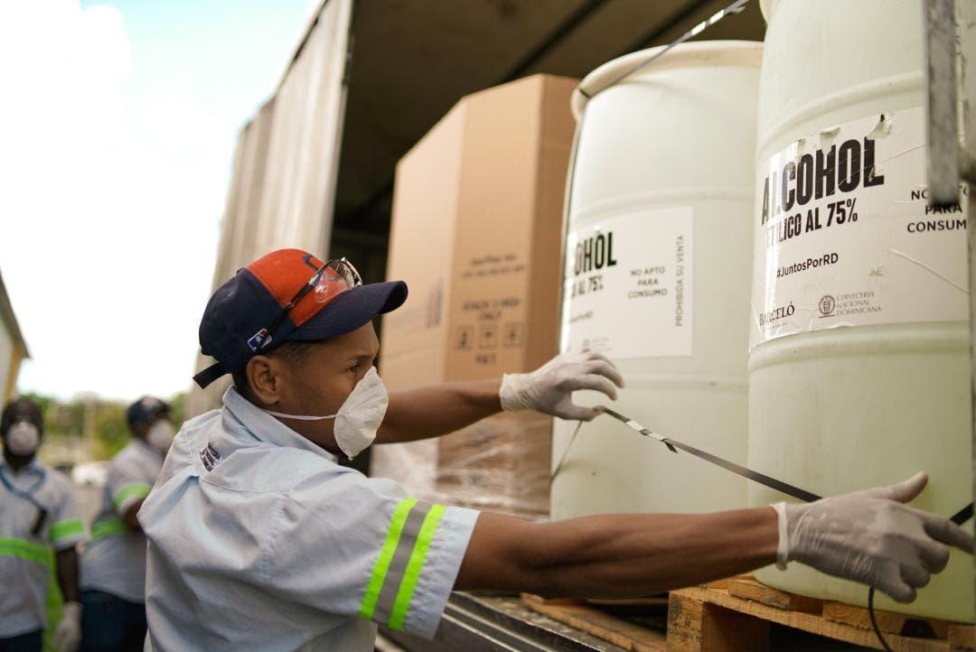 Donaciones de la Cervecería por Covid-19 superarán RD$100 millones