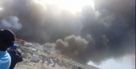 Ministerio de Salud dice habrá que esperar una semana para ver impacto del incendio en Duquesa