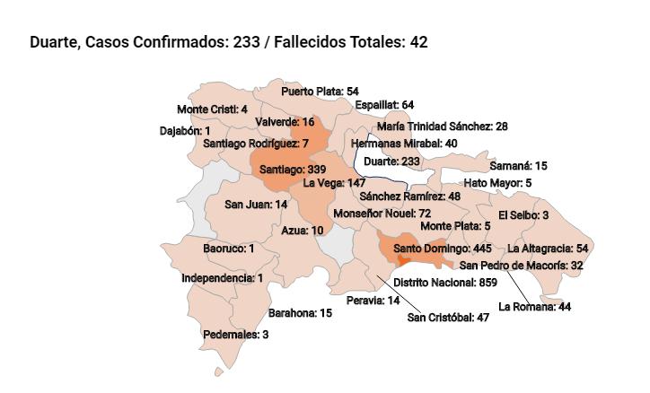 Salud Pública reporta 37 casos nuevos de Covid-19  y dos fallecimientos en San Francisco