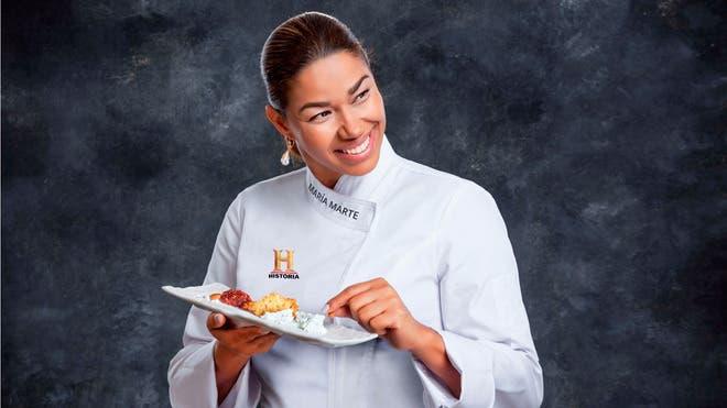 María Marte: Nivel gastronómico español es difícil encontrarlo en otro lugar