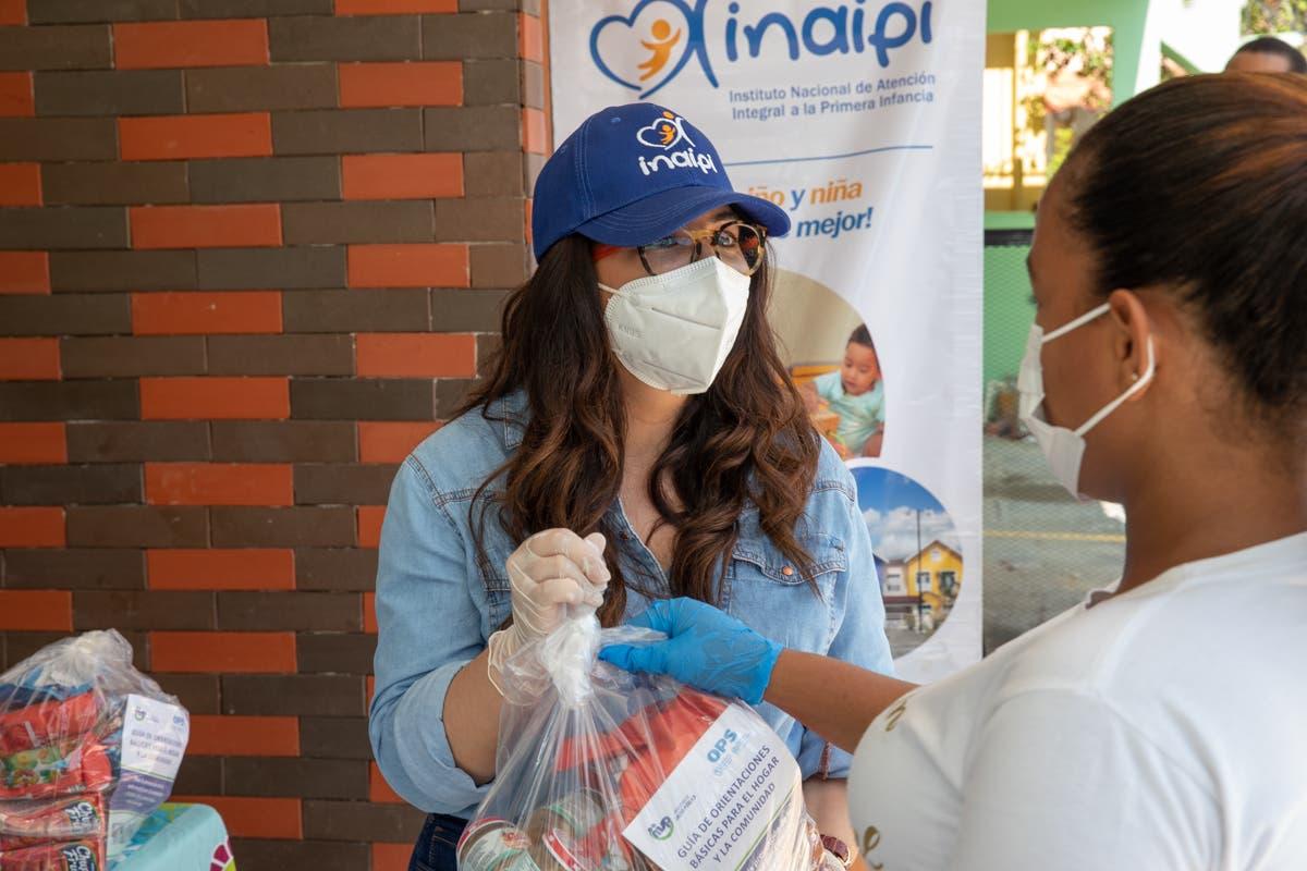 Inaipi entrega más de 50 mil raciones a familias infantes