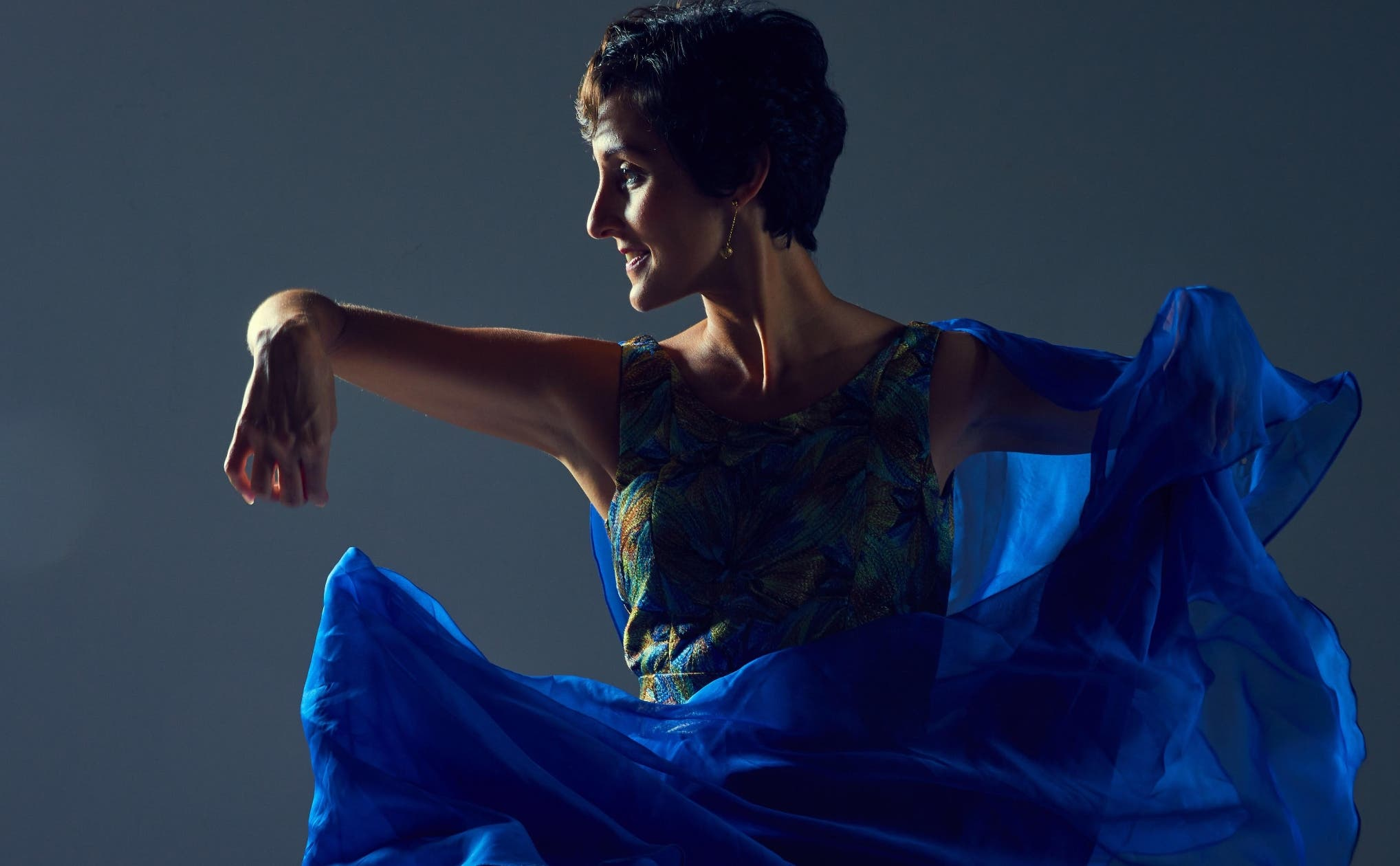 Stephanie Bauger, una mujer que mantiene activa la danza