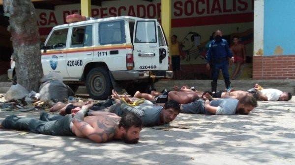 Gobierno de Venezuela anuncia detuvo a ocho nuevos «mercenarios»