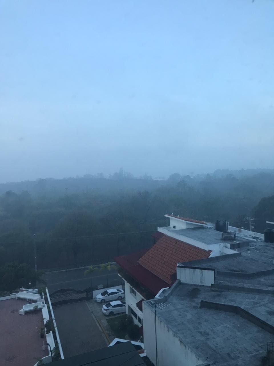 Humo de Duquesa cubre Santo Domingo Norte, Distrito Nacional y la provincia