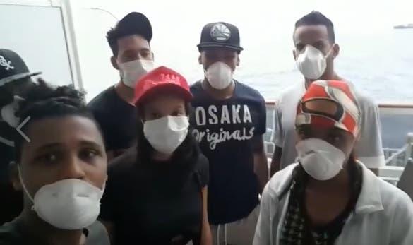 15 dominicanos varados en barco anclado en Brasil piden ayuda para retornar al país