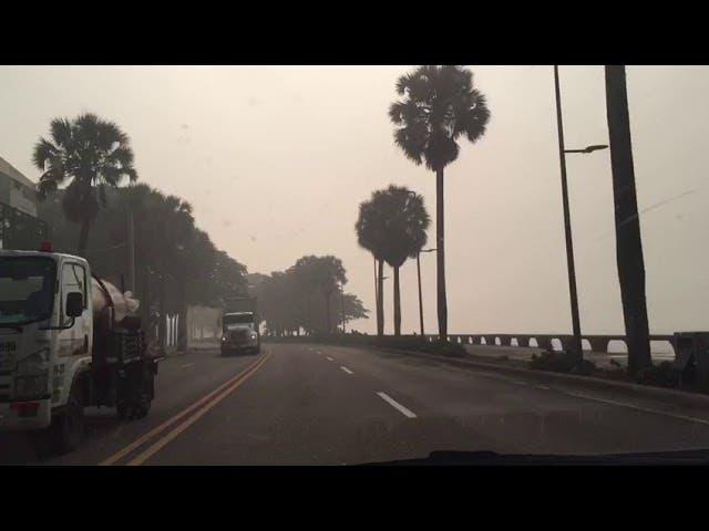 Humo de Duquesa inunda a SDN, Distrito Nacional y la provincia