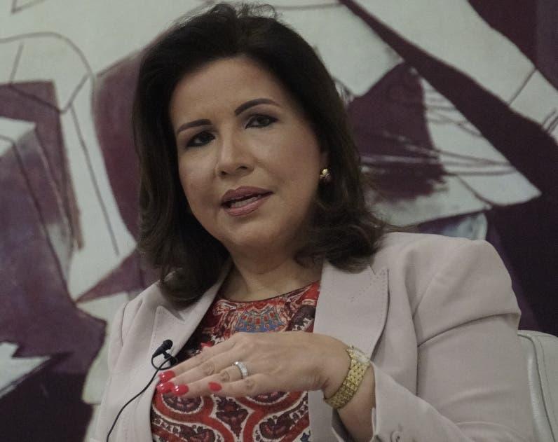 Margarita Cedeño ve muy atinada la decisión del Gobierno de posponer la reforma fiscal