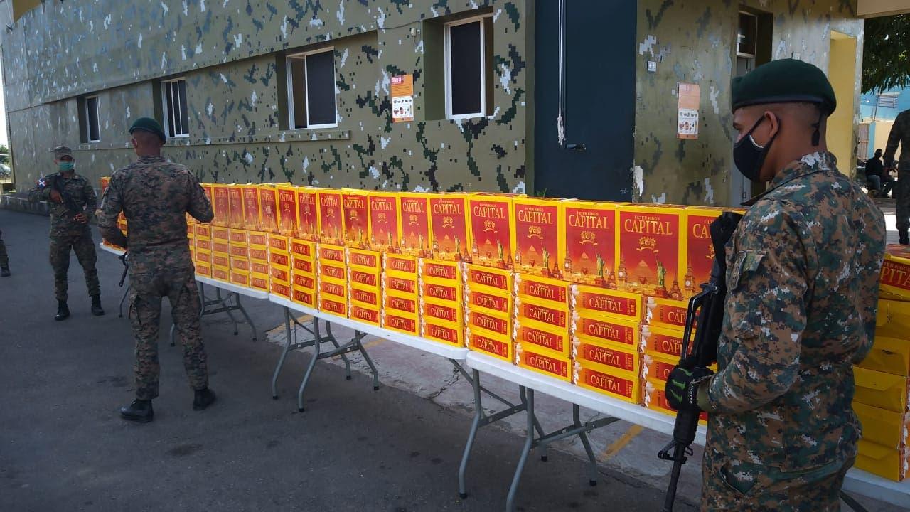 Ejércitos ocupa 126 mil unidades de cigarrillos en Dajabón