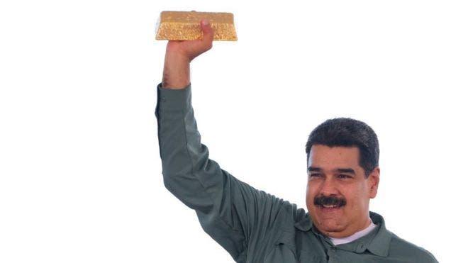 Por qué el Banco de Inglaterra retiene 31 toneladas de lingotes de oro de Venezuela