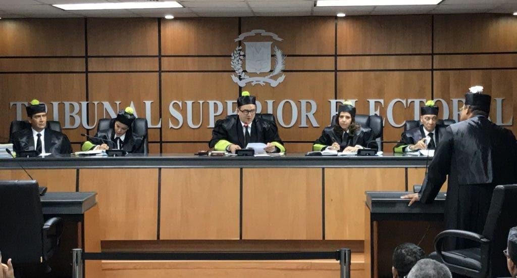 TSE conocerá recurso de amparo interpuso la Fuerza del Pueblo contra resolución de la Junta