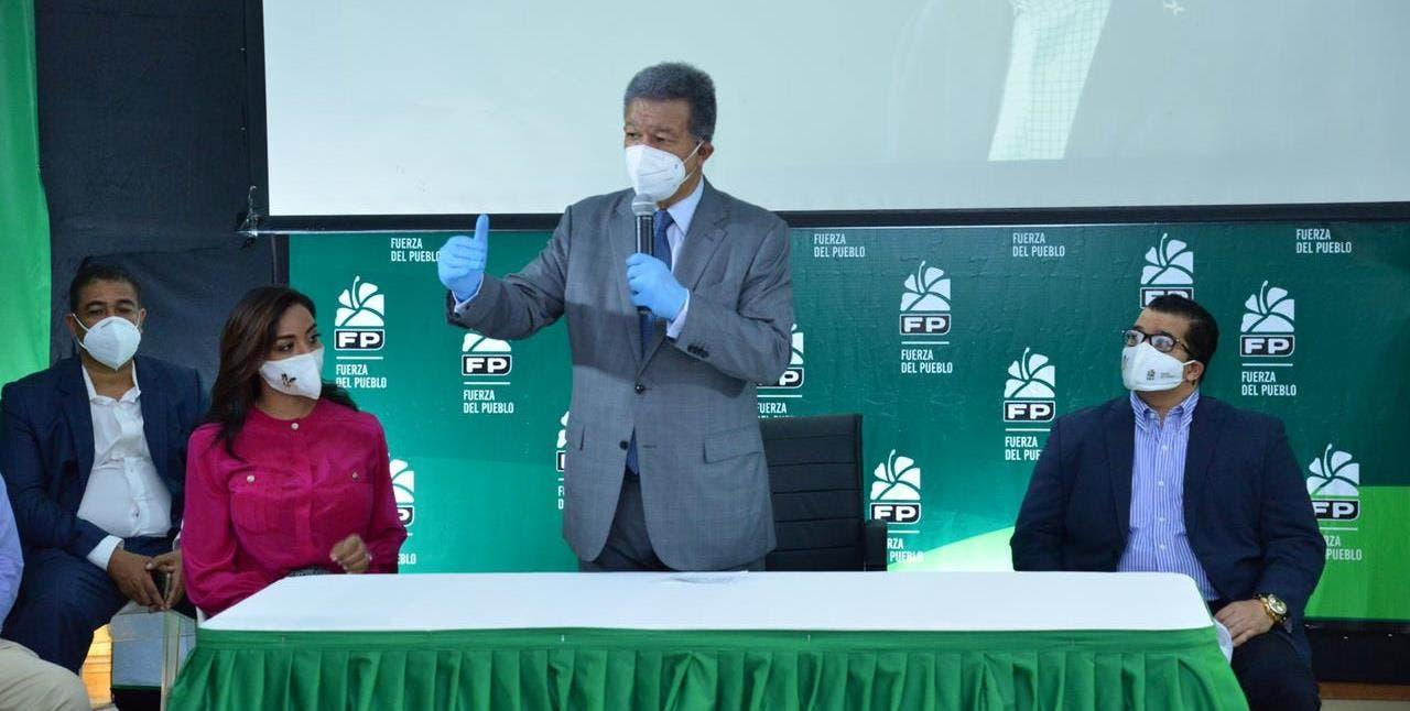 Leonel lamenta ANJE suspendiera debate por negativa de otros candidatos
