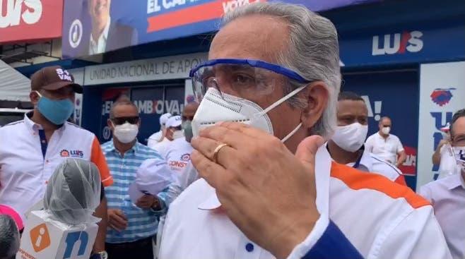 Movimiento Construir con Luís aportará 160 mil votos al PRM
