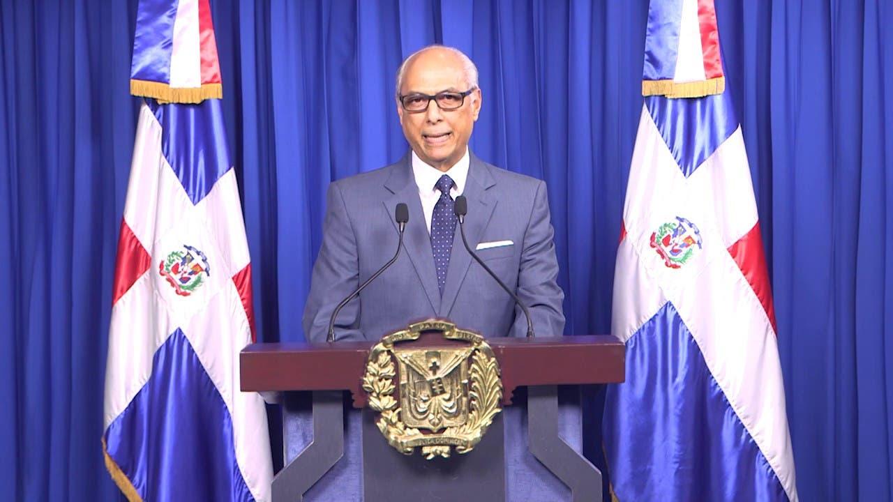 Flavio Darío Espinal explica base jurídica de última prórroga estado emergencia