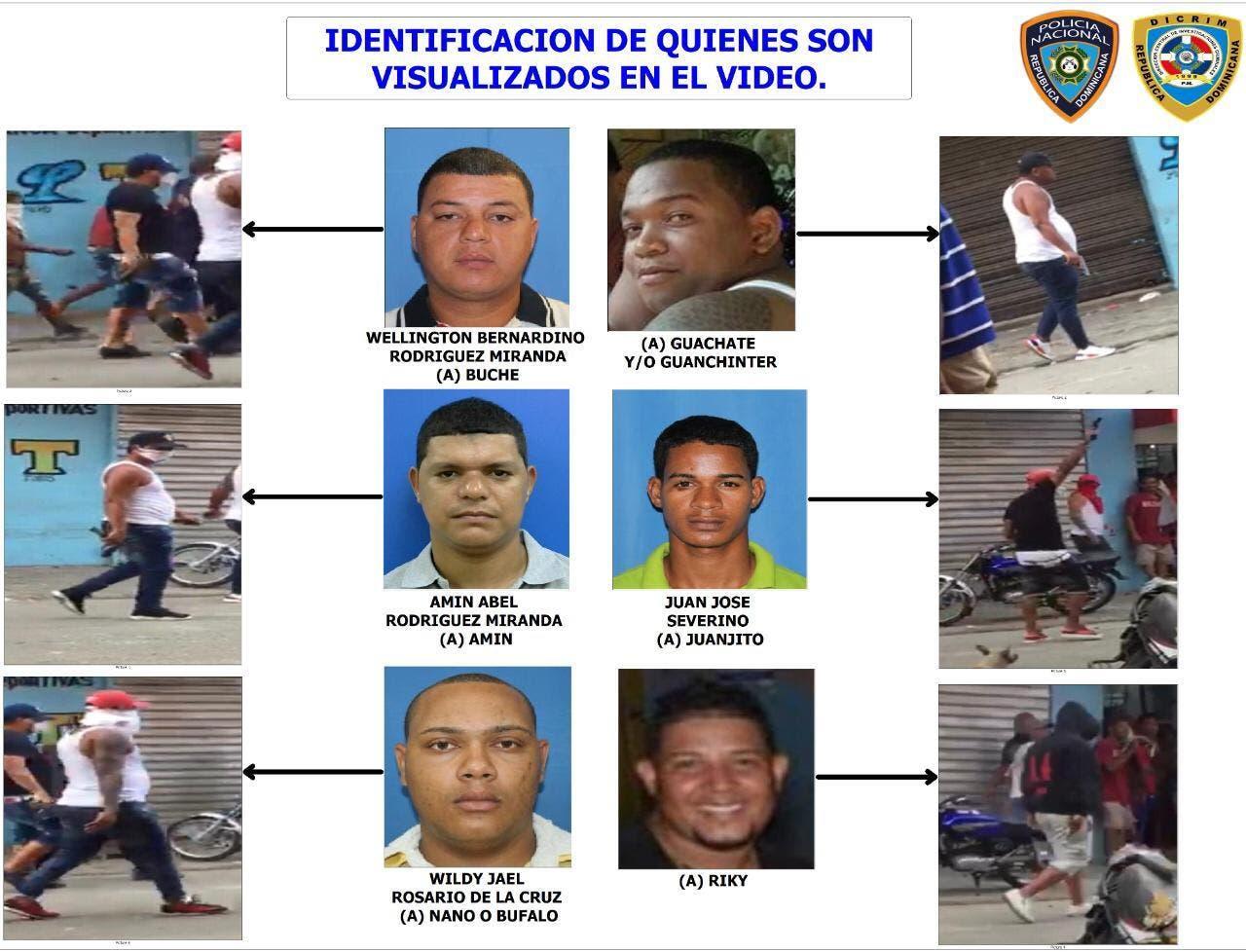 Policía identifica a los sicarios «gatillos alegres» de Capotillo
