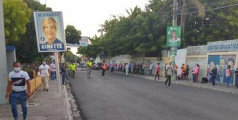 Proceso electoral transcurrió con normalidad y gran afluencia de votantes en Puerto Plata