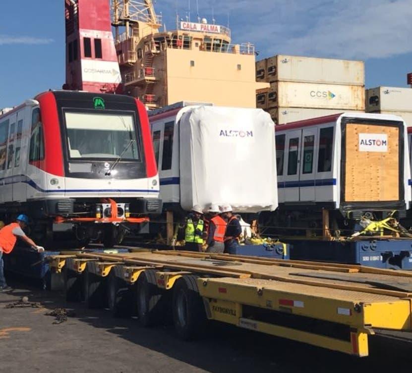 Seis nuevos vagones llegan hoy al país