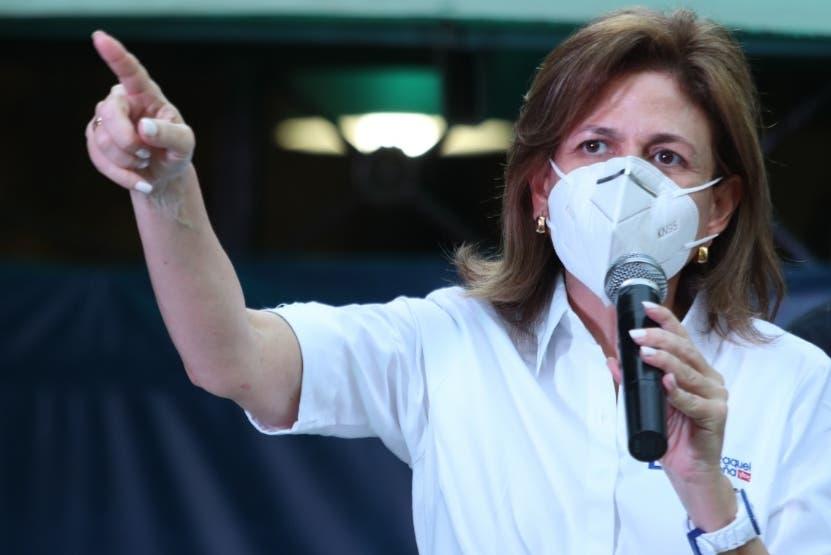 Raquel Peña aclara conciertos para motivar vacunación son propuestas de empresas