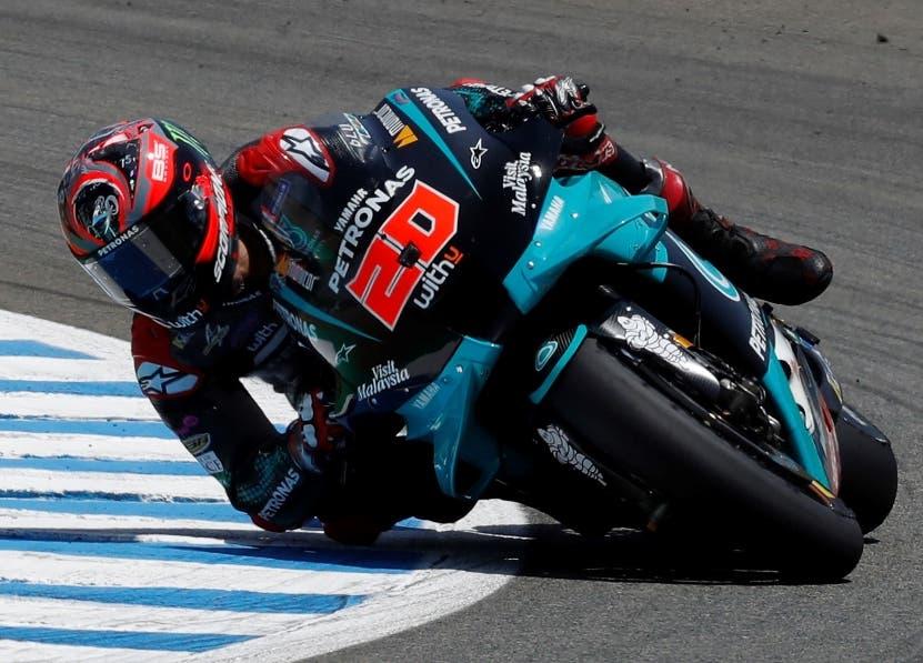 Francés sorprende en el GP de motos