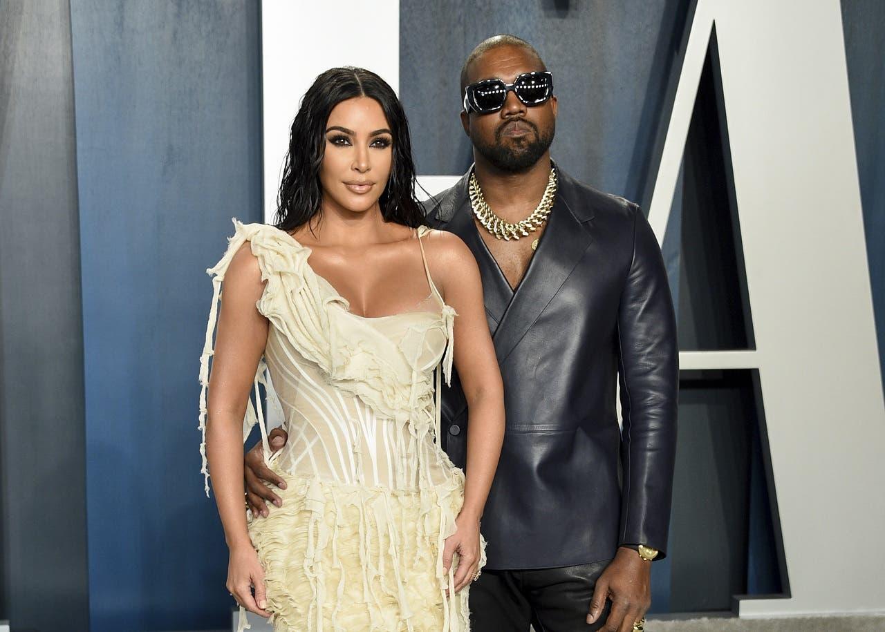 Kim Kardashian y Kanye West ya hacen vidas separadas