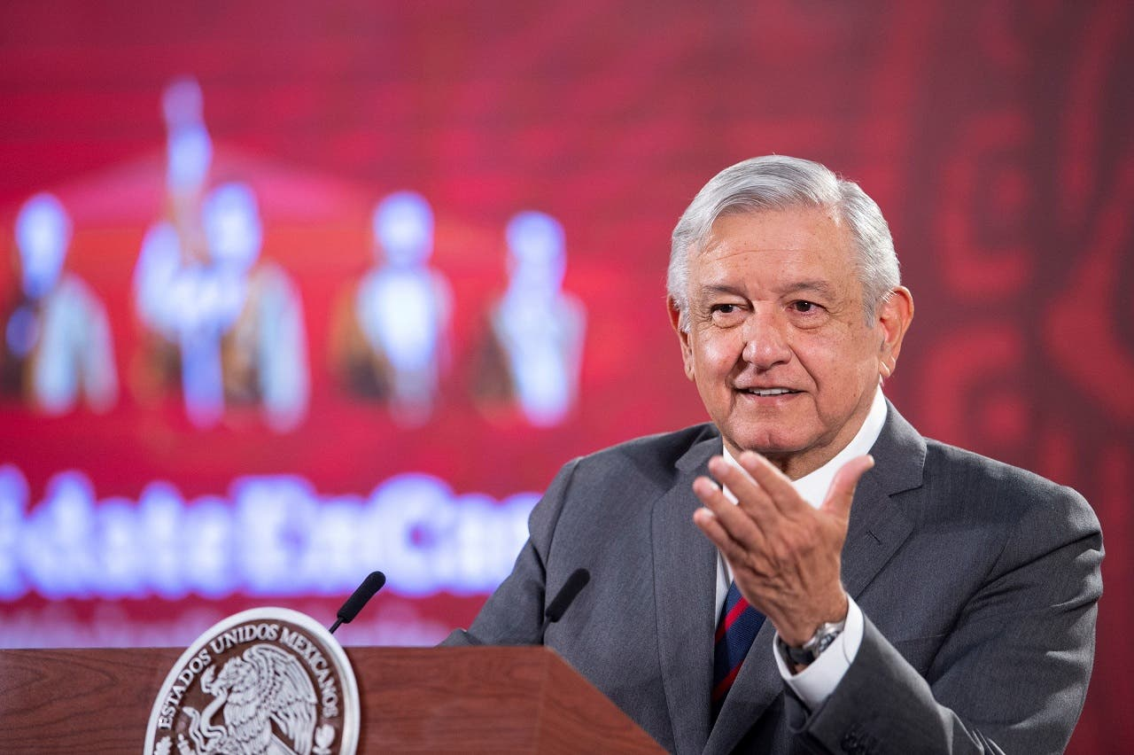 """López Obrador dice que """"no declarará la guerra"""" tras video del Cártel Jalisco"""