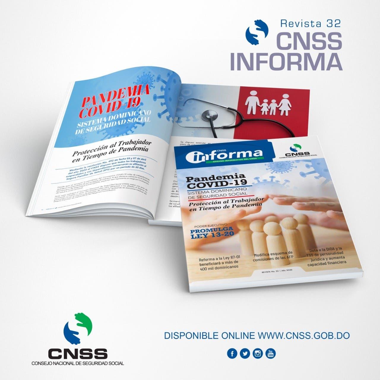 """CNSS pone en circulación revista no. 32 """"CNSS Informa"""""""