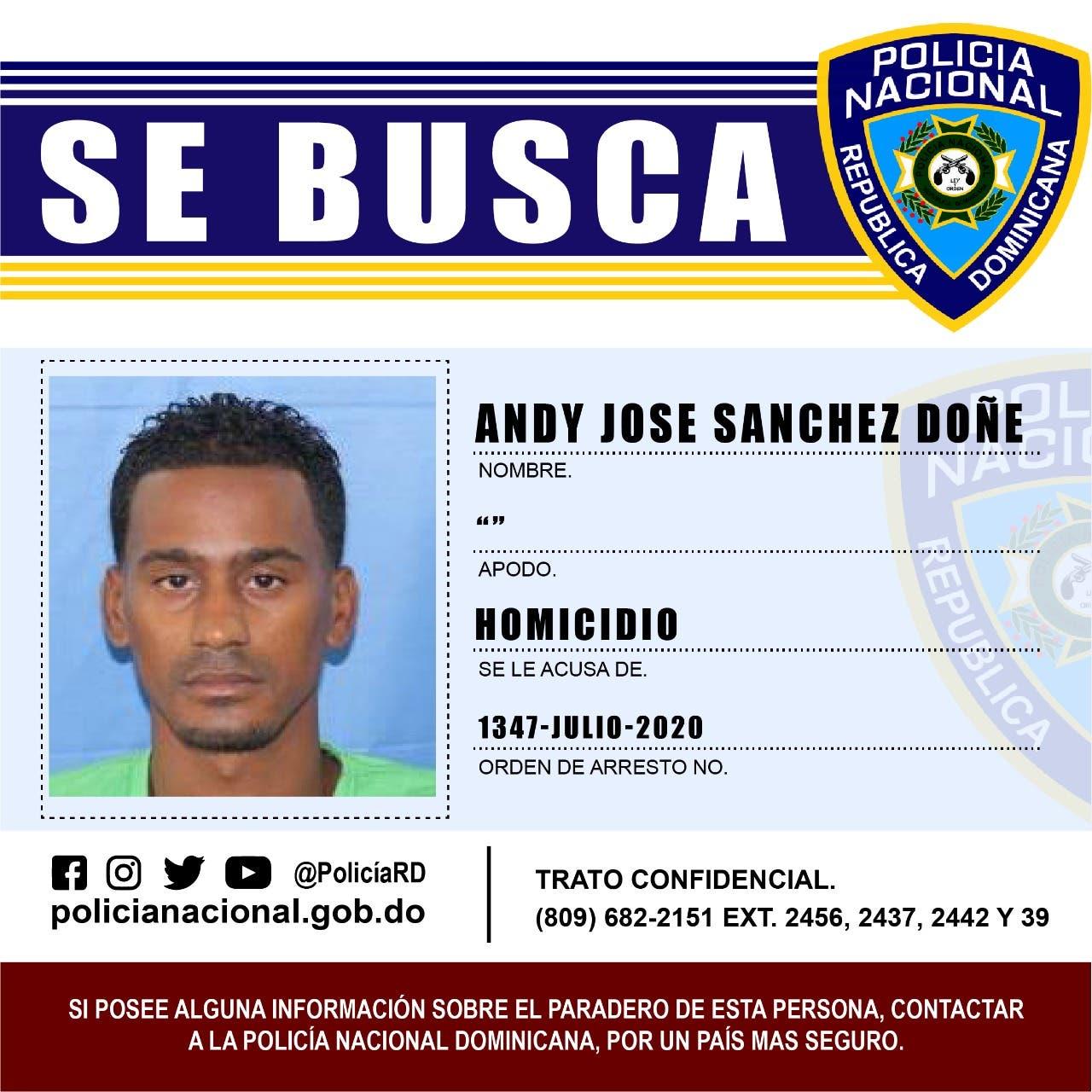 Apresan en Capotillo a Andy Sánchez Doñé, presunto autor material muerte dirigente PRM