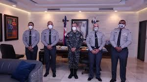 Cuatro coroneles PN ascendidos  a general