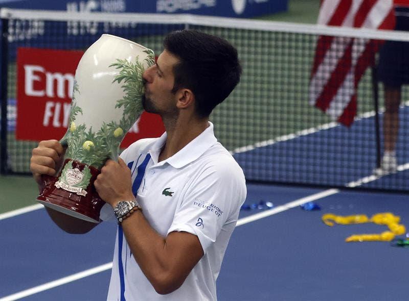 Djokovic hace historia con su segunda temporada como «Golden Masters»