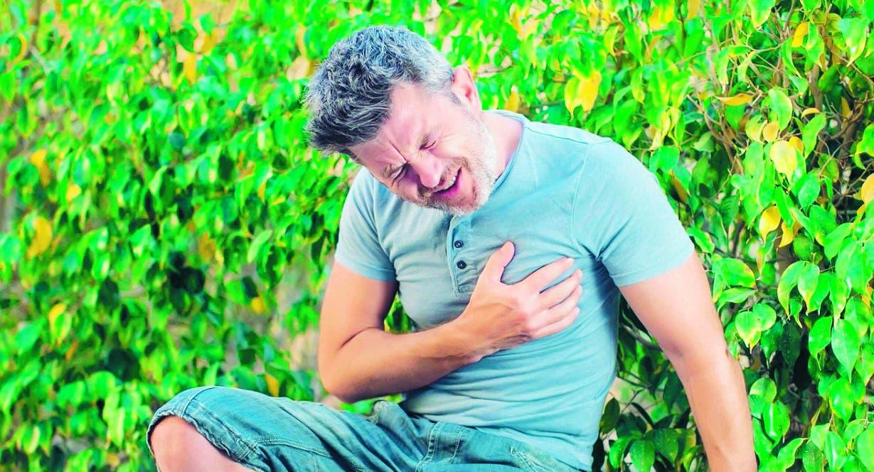 Los hombres son más propensos a padecer angina de pecho