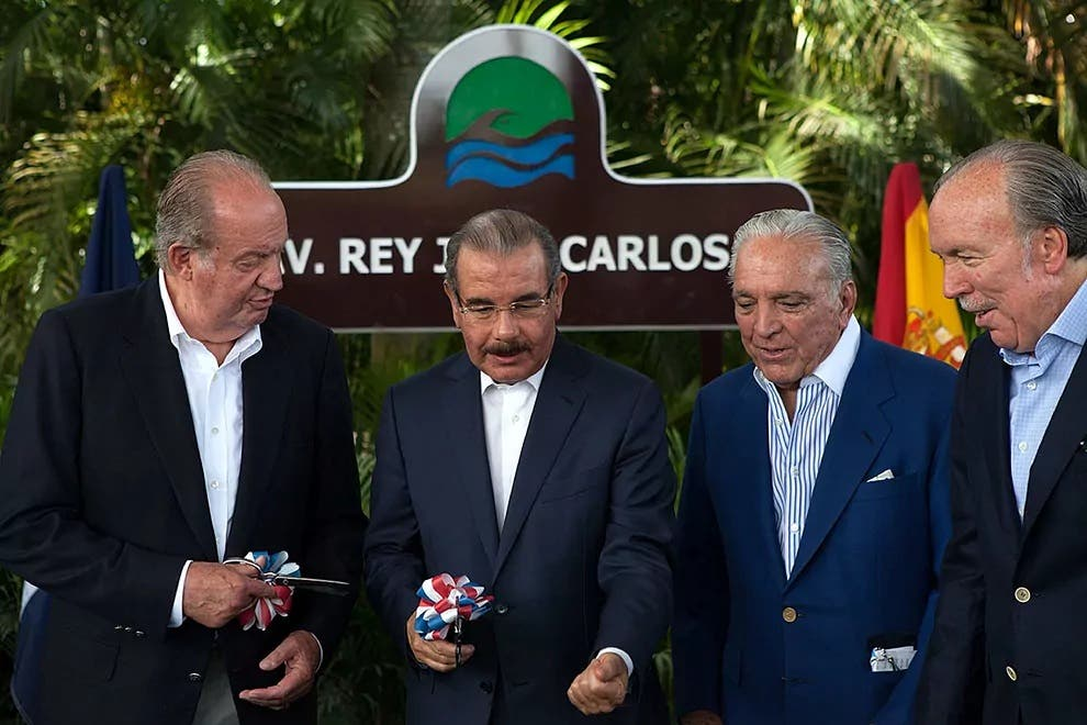 Pepe Fanjul habló con el rey Juan Carlos I y le ofreció cualquiera de sus residencias para alojarse