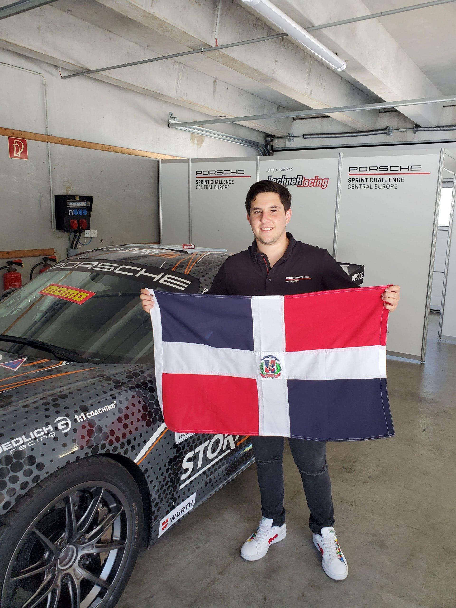 Piloto dominicano Jimmy Llibre representará al país en el Campeonato Porsche Central Europe