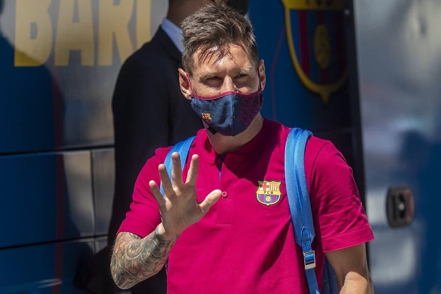 Messi comunica al Barcelona que se quiere ir del club