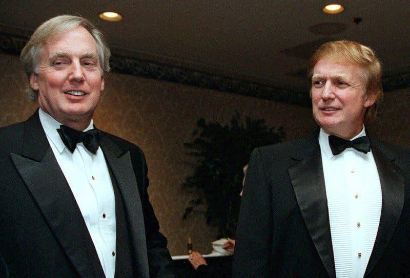 Muere Robert Trump, hermano menor del presidente Trump